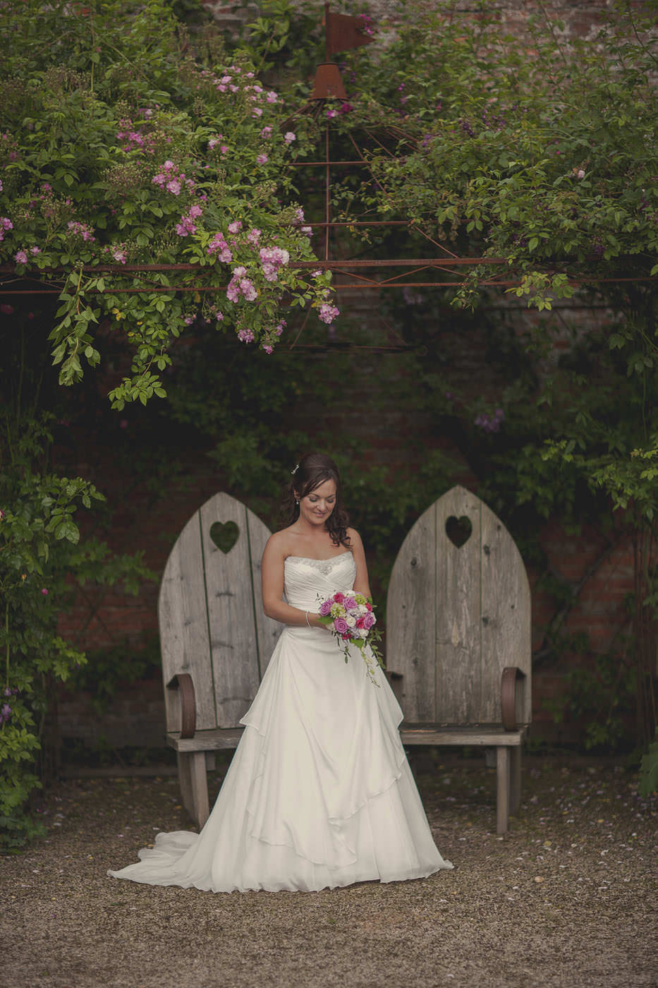 chrissarah walled garden midhurst wedding photographer 0133